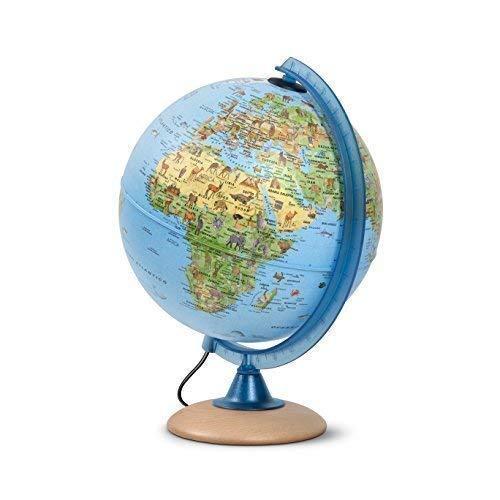 Mappamondo per bambini, Globo luminoso per bambini, diametro...