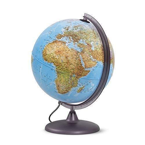 Globo luminoso per studenti, diametro 30cm, cartografia a...