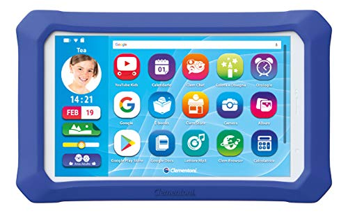 Clementoni- Clempad 9 Plus, Tablet per Bambini [Versione...
