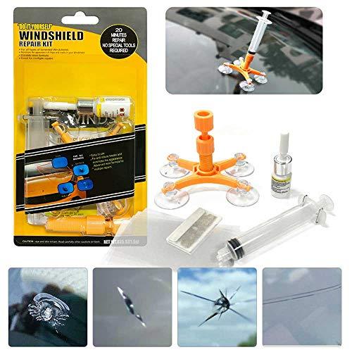 Manelord Kit Riparazione Parabrezza Auto Kit Riparazione...