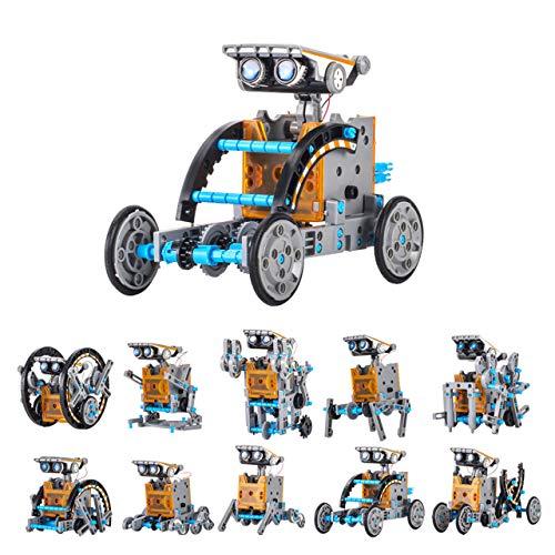 Giocattolo Solare Robot Kit DIY 12-in-1 Robots Giocattoli...