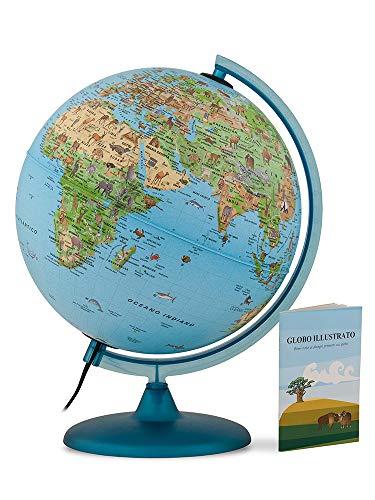 Tecnodidattica – Mappamondo Safari 25 per Bambini e...