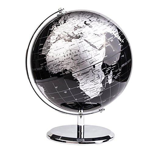 Exerz 20CM Mappamondo/World Globe/Globo in Inglese -...