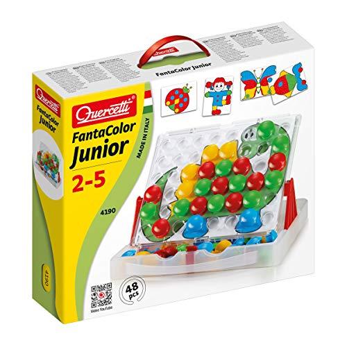 Quercetti- Fantacolor Junior Gioco Educativo, Multicolore,...