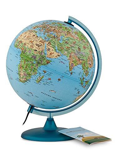 Tecnodidattica- Mappamondo Safari 25 con Libretto,...