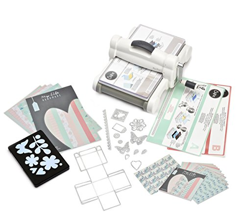 Sizzix Big Shot Plus Kit di Partenza My Life Handmade 2,...
