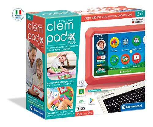 Clementoni-Il Mio Primo Clempad X Plus Tablet per Bambini...