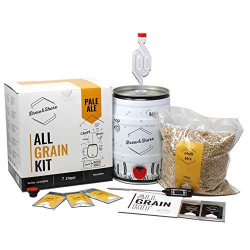 Brew & Share | Kit per fare birra Pale Ale | La tua birra in...