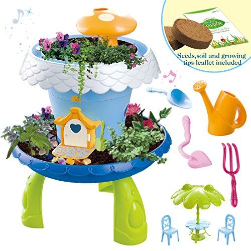 deAO Giardino in Miniatura Giardino Fatato con Luci e Suoni...