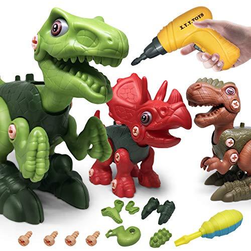 LAPPAZO Dinosauro Giochi per Bambini DIY Assemblare e...