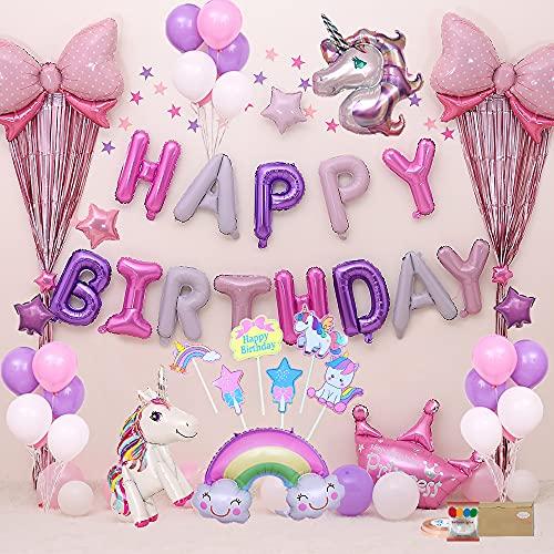 Decorazioni per Feste di Unicorno Decorazioni Compleanno...