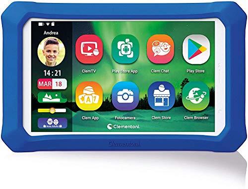 Clementoni Clempad X Plus-Tablet per Bambini con Tastiera...
