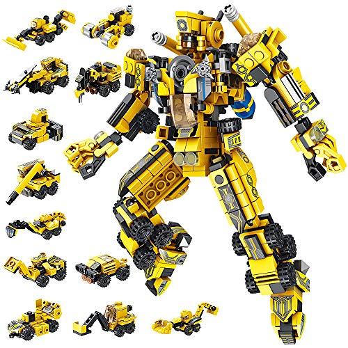 VATOS Robot Costruzioni Giocattolo STEM 573 Pezzi Giocattolo...
