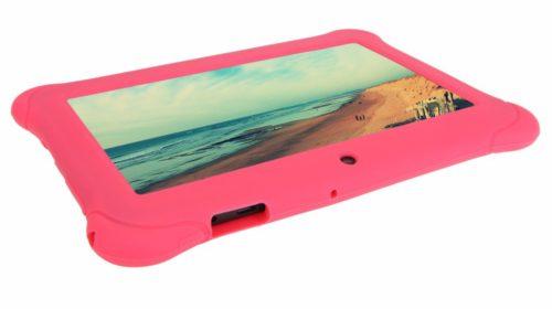 iRulu BabyPad con la custodia rosa