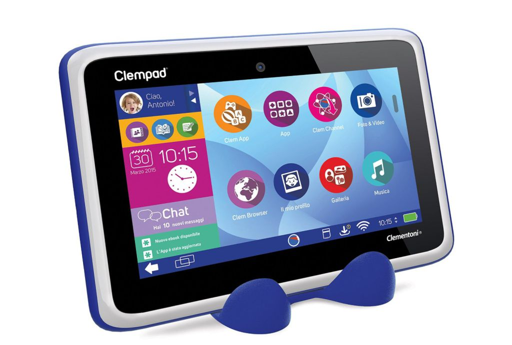 Clempad 5.0 Plus con stand porta tablet