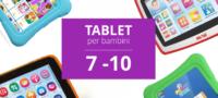 I migliori tablet per bambini dai 7 ai 10 anni