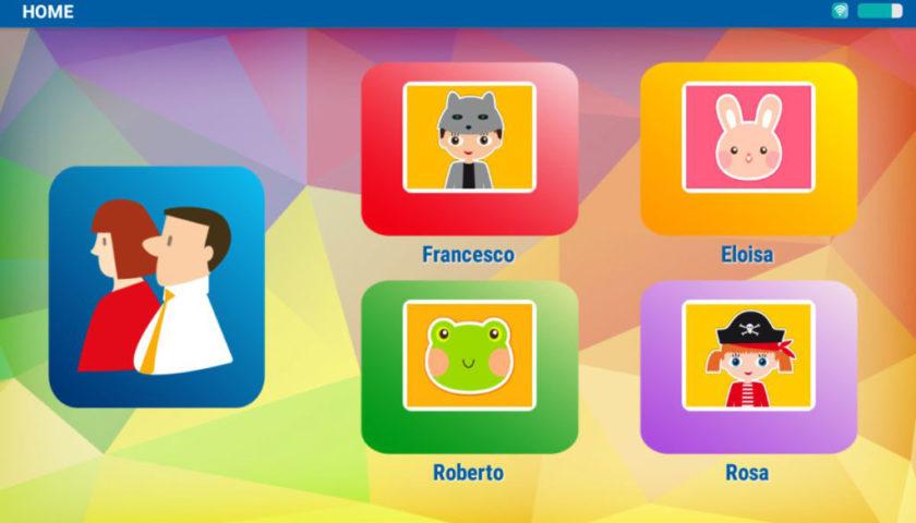 Mio Tab Smart Kid 6.0: schermata principale
