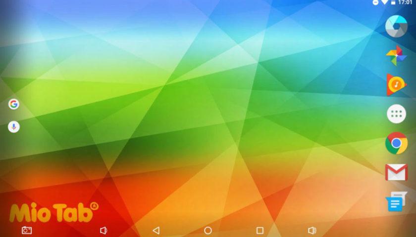 Mio Tab Smart Kid 6.0: desktop Android