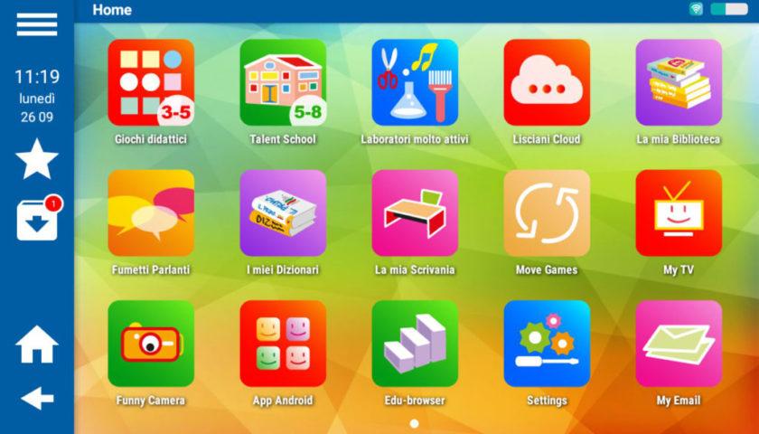 Mio Tab Smart Kid 6.0: desktop bambino