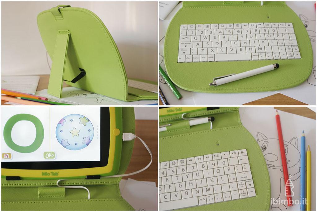 Mio Tab Smart Kid 6.0: dettagli custodia/tastiera