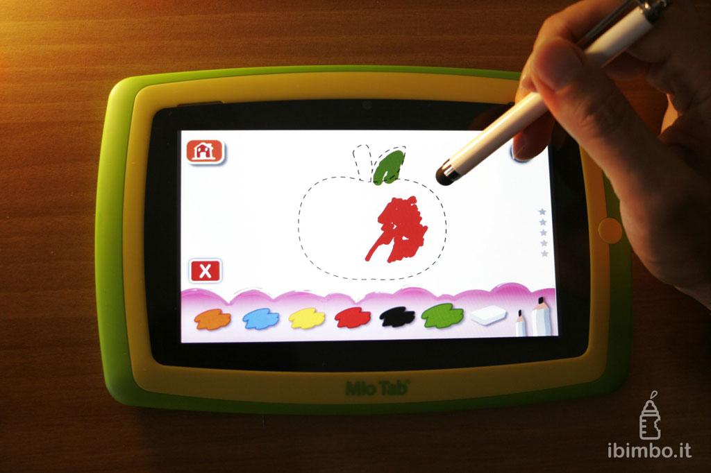 Mio Tab Smart Kid 6.0: dimostrazione penna capacitiva