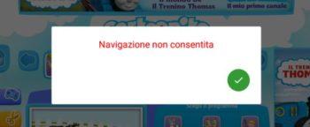 Mio Tab Smart Kid 6.0: Protezione di Edu-Browser