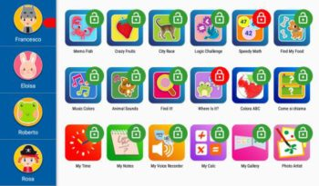 Mio Tab Smart Kid 6.0: gestione applicazioni