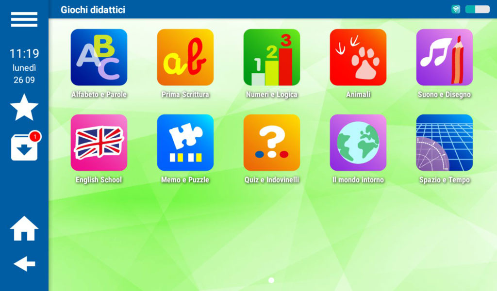 Mio Tab Smart Kid 6.0: Giochi Didattici