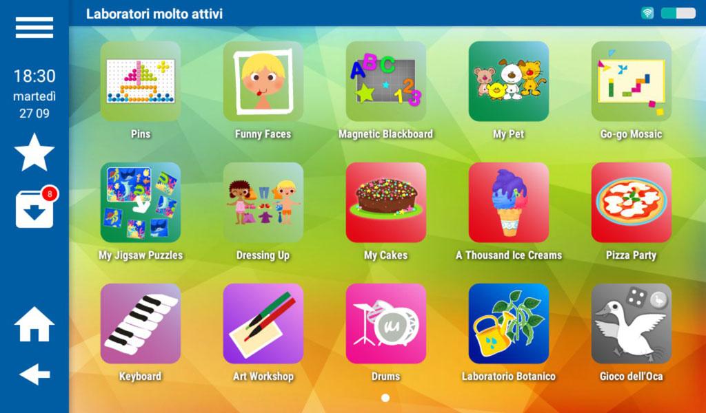 Mio Tab Smart Kid 6.0: Laboratori Molto Attivi