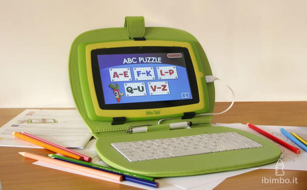 Mio Tab Smart Kid 6.0: modalità laptop