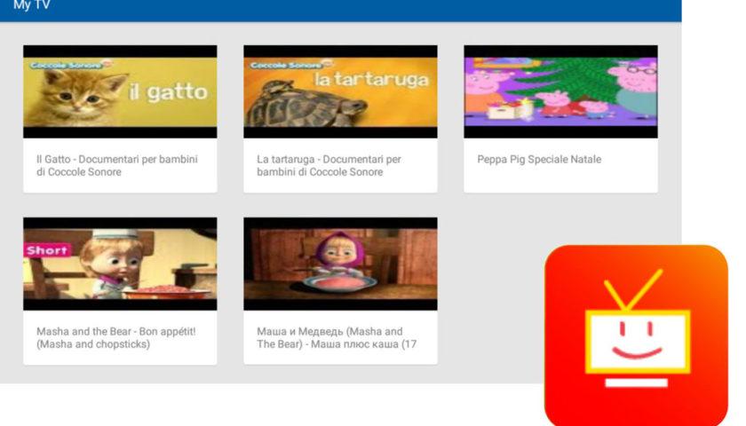 Mio Tab Smart Kid 6.0: My TV