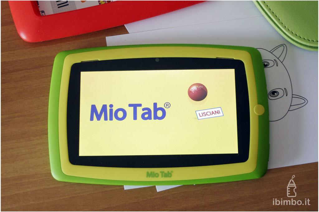Mio Tab Smart Kid 6.0: lo schermo