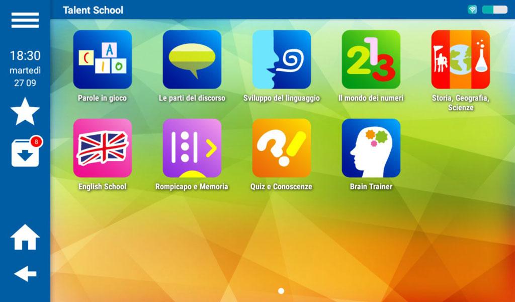 Mio Tab Smart Kid 6.0: Talent School