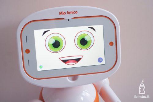 Mio Amico Robot - le smorfie