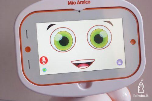 Mio Amico Robot - modalità ascolto