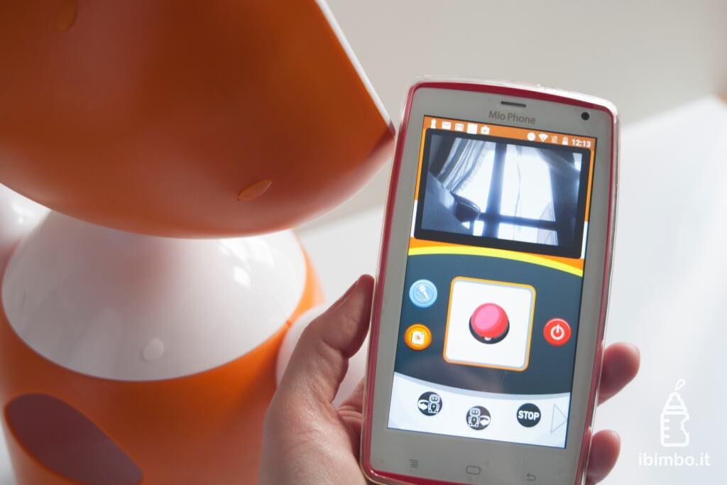 Mio Amico Robot - video sorveglianza