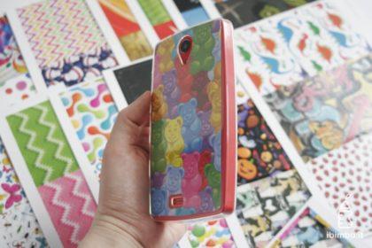 Mio Phone Evolution 6.0 - la cover con orsetti gommosi