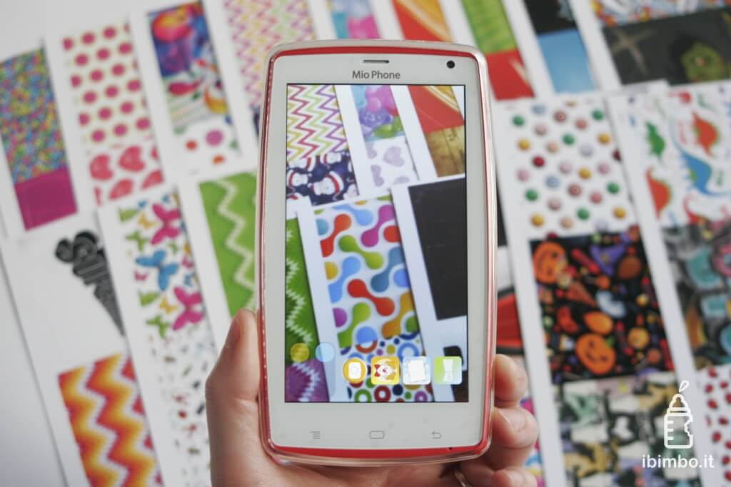 Mio Phone Evolution 6.0 - la fotocamera