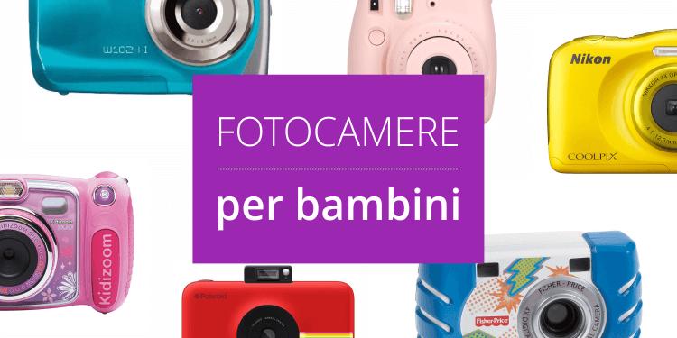 Fotocamere per bambini e ragazzi