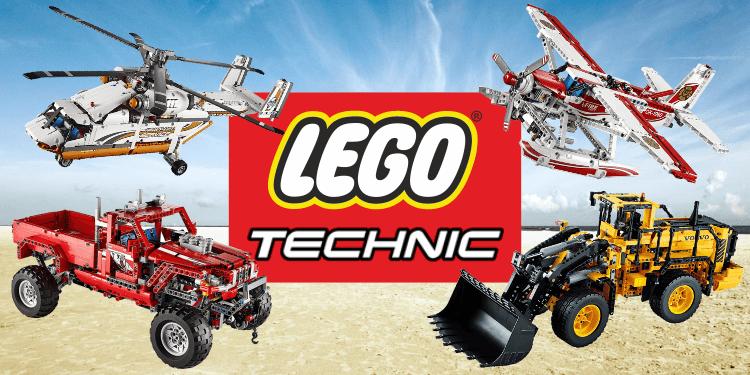Lego Technic, i 10 set più appassionanti