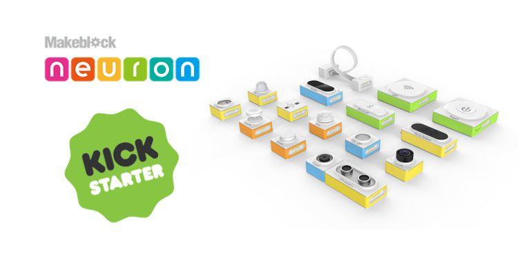 Makeblock Neuron, un kit programmabile modulare per gli inventori di tutte le età