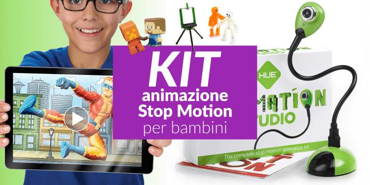 Kit animazione stop motion per bambini