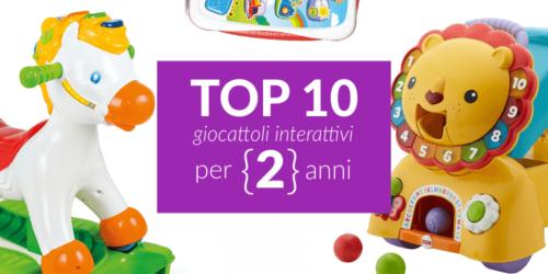 Giochi interattivi per bimbi di 2 anni
