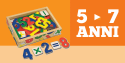 Giocattoli STEM per bambini di 5 - 7 anni