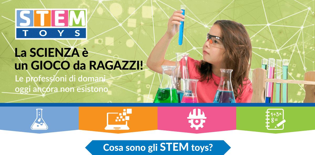 Giocattoli STEM, cosa sono?