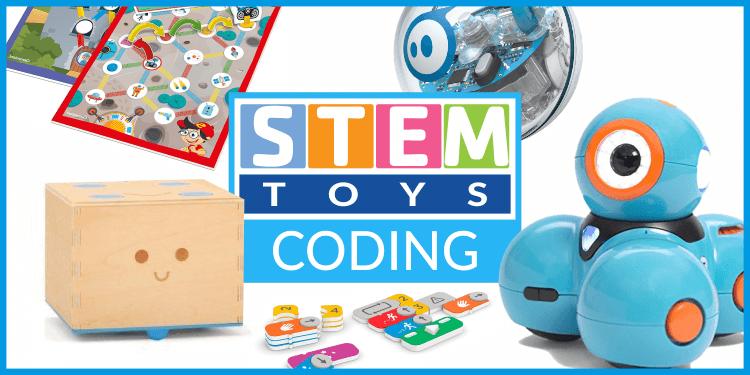 Giocattoli STEM che insegnano coding