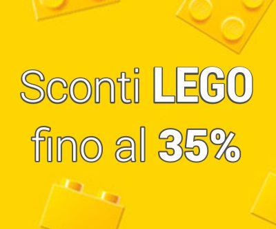 Sconti LEGO fino al 35%