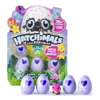 Hatchimals Colleggtibles: 4 pack + bonus