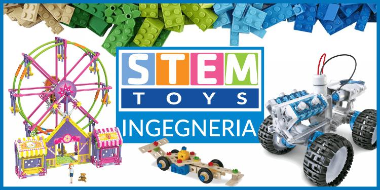 Giocattoli STEM dedicati all'ingengeria