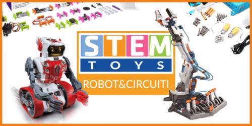Migliori giocattoli STEM dedicati alla robotica e ai circuiti